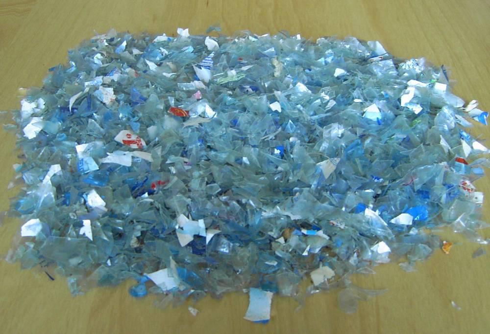 شراء PET flakes (light blue color)
