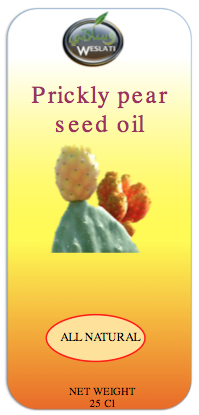 Cold pressed Prickly pear cactus seed oil