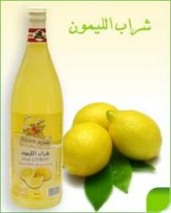 Sirop Citron naturel