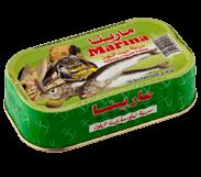 Sardine à l'huile d'olive 125 gr