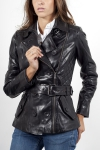 Leather flight jackets