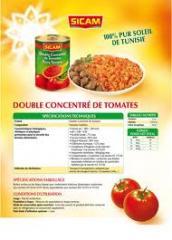 Tomate consentrée
