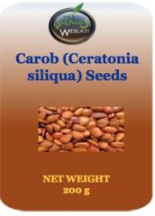 Organic Carob (ceratonia Siliqua) seeds