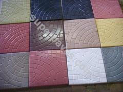 Plates facade
