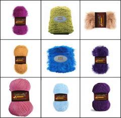 Fil de tricotage à main