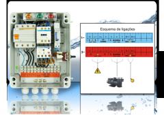 Coffret électrique de niveau et de protection