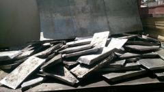 Lingots d'aluminium