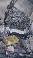 Lingots d'aluminium, plomb