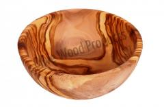 Salad bowl olive wood