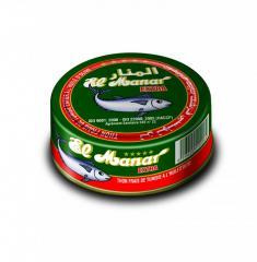 Virgin olive oil special tuna: