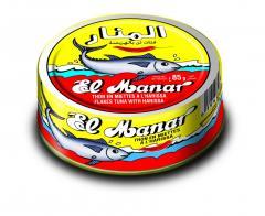 Tuna flakes with Harissa