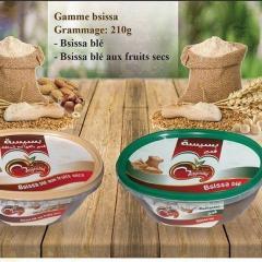 Healthy Natural Food Basissa Wheat / Dried Fruits and Harissa Berber