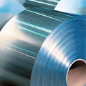 Tape cold-rolled made of zinc-coated metal