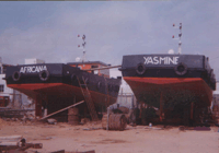 Towing vessels
