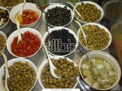 Olive conservée