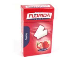 Chewing-gum, Avec Sucre (Florida Fraise)
