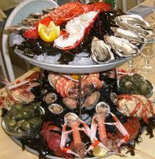 Fruits de mer surgelés