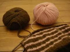 Yarns for knitting and embroidery