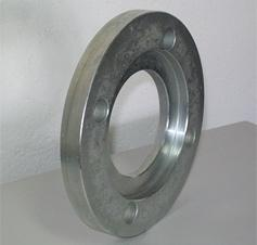 Collar flanges