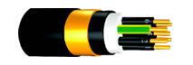 Câbles anti-inductifs pour réseaux d'énergie  NYCY