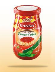 Sauce tomate (Piment Vert)