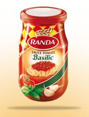 Sauce tomate(Basilic)