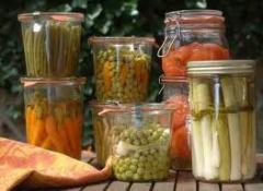 Conserves de legumes