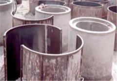 Coffrage des tubes en béton