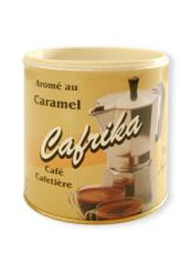 Café cafétière aromatisé au caramel