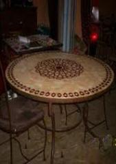 Restaurant Mosaïque table