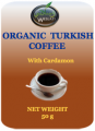 Organic Turkish Coffee with Cardamon (50g)