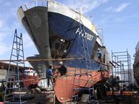 طلب Entretien périodique et Réparation des navires